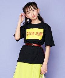 SISTER JENNI/クリアベルト付ボックスロゴ半袖T/503148483