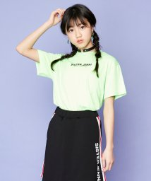 SISTER JENNI/ハートチョーカー付ネオンカラー半袖T/503148484