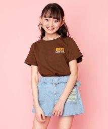 JENNI love/配色テープTシャツ/503149748