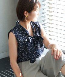 ROPE' PICNIC/【WEB限定】ヨットプリントボウブラウス/503151365