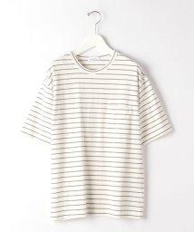 green label relaxing/SC コンフィヤーン ボーダー クルーネック 半袖 カットソー Tシャツ/503129745