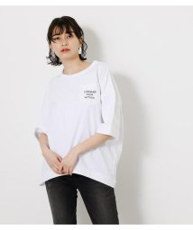 AZUL by moussy/CONQUER POCKET TEE/503152043