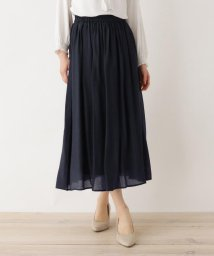 SHOO・LA・RUE DRESKIP/【M-LL】RNボイルロングスカート/503152286
