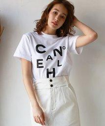 REAL CUBE/ロゴアートデザインTシャツ/503140291