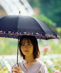 TIMELESS COMFORT/TC LONG PARASOL Cherry Embroidery BE90689 晴雨兼用・UVカット/503152529