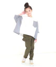 UNICA/【2020春夏】ビッグシルエット切替Tシャツ 110~140/503023740