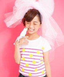 UNICA/【2020春夏】ドットボーダーTシャツ 110~140/503023768