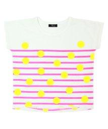 UNICA/【レディスサイズ】【2020春夏】ドットボーダーTシャツ XS~M/503023769