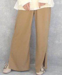 ARGO TOKYO/Side slit wide pants 22072/503115768