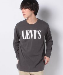 LEVI'S MEN/LS RELAXED GRAPHIC TEE 90'S SERIF LOGO L/503132192