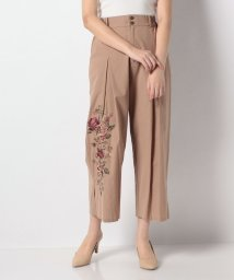 axes femme/刺繍入りパンツ/503140320