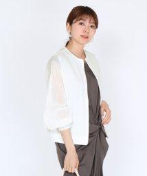 SCOTCLUB/FENNEL(フェンネル) 【手洗い可】シアースリーブカットソーブルゾン/503150638