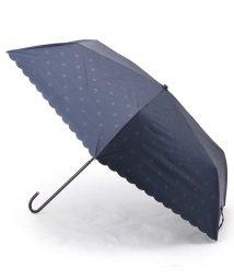 Dessin/because シャドードット柄晴雨兼用折り畳み傘/503153657