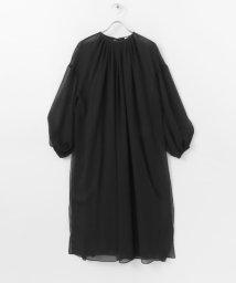 URBAN RESEARCH/ELIN Sheer layered dress/503154009
