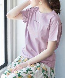 ROPE' PICNIC/オーガビッツ刺繍Tシャツ/503154177