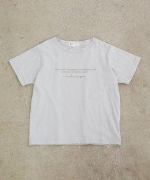 ROPE' PICNIC KIDS/【ROPE' PICNIC KIDS】オーガニックコットンロゴTシャツ/503154187