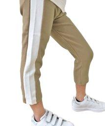 NEXT WALL/「Z-0011」キッズ 子供服 七分丈 サイドラインパンツ/503044517