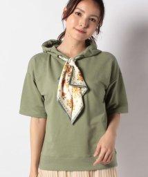 axes femme/スカーフデザインパーカー/503137842