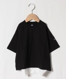 b-ROOM/レイヤード風無地Tシャツ/503137877