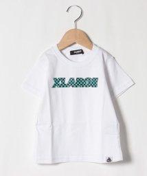 XLARGE KIDS/チェッカーロゴTシャツ/503137895