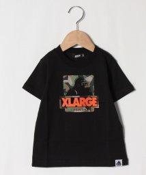 XLARGE KIDS/OGゴリラ迷彩ロゴTシャツ/503137896