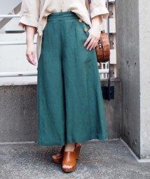 INTERPLANET/麻レーヨンスカート風パンツ/503147867