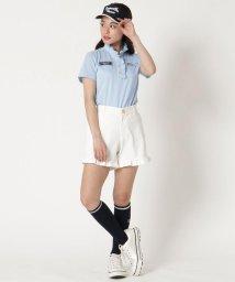 Samantha Thavasa UNDER25&NO.7/裾フリルショートパンツ/503154517