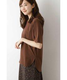 NATURAL BEAUTY BASIC/ラウンドヘムTシャツ/503154637