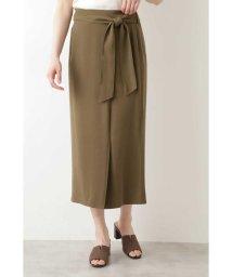 NATURAL BEAUTY BASIC/アシメラップスカート◆/503154651