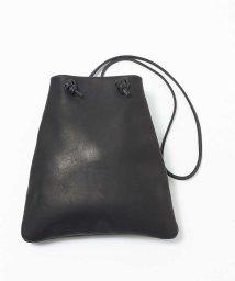 collex/【MORMYRUS】 レザーショルダーバッグ  trapezoid bag/503157644
