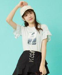 KUMIKYOKU KIDS/【UVケア/150-170cm】バレリーナグラフィック カットソー/503158087
