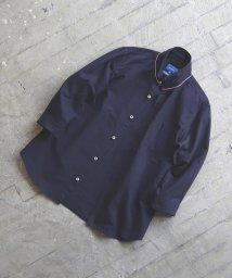 BEAMS MEN/BEAMS / オックス トリコ釦 7分袖シャツ/502833423