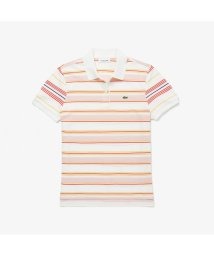 LACOSTE/クラシックフィット マルチカラーストライプポロシャツ (半袖)/503089252