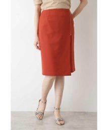 NATURAL BEAUTY BASIC/サイドZIPタイトスカート/503154601
