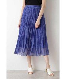 NATURAL BEAUTY BASIC/[洗える]ランダムプリーツスカート/503154605