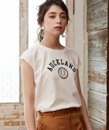 NATURAL BEAUTY BASIC/★フレンチスリーブロゴTシャツ/503154657