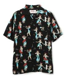 GARDEN/Aloha Blossom/アロハ ブロッサム/HULA GIRL SHIRTS/フラガールシャツ/503158204