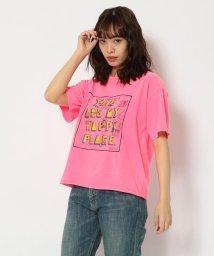 BEAVER/FUNG/ファング Basic neon tee cut off happy place Tシャツ/503158211