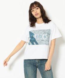 BEAVER/FUNG/ファング Basic photo tee cut off LOOK Tシャツ/503158213
