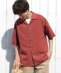 UNION STATION/【ドライタッチ】オープンカラーシャツ/開襟シャツ/503158331