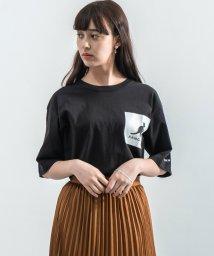 Rocky Monroe/KANGOL カンゴール Tシャツ メンズ レディース USAコットン 米綿 半袖 ポケット付き プリント ロゴ ボックス 刺繍 スクエア カジュアル シンプル/503159140