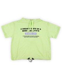 CHEER GIRL/フード付き半袖Tシャツ/503159597