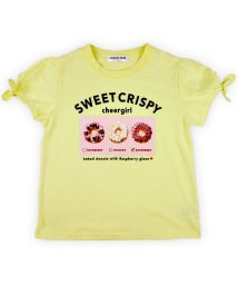 CHEER GIRL/袖口リボン半袖Tシャツ/503159601