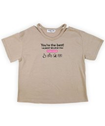 CHEER GIRL/Vネック半袖Tシャツ/503159602