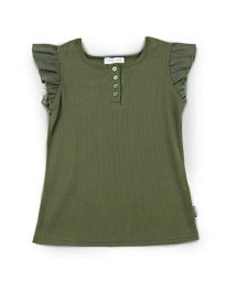 CHEER GIRL/肩フリル半袖Tシャツ/503159605