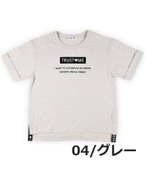 CHEER GIRL/ターンバック袖シルケット半袖Tシャツ/503159608