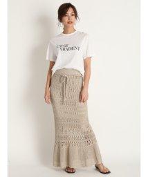 Mila Owen/グラフィックロゴプリントTシャツ/503160190