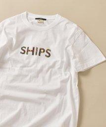 SHIPS MEN/SC: SHIPS ロゴ ペイズリー/フラワー/レオパード柄 Tシャツ/503160360