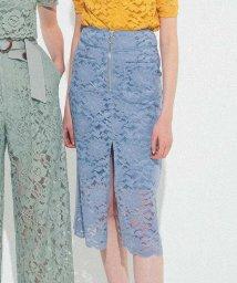 REDYAZEL/スカラップレースタイトスカート/503114702