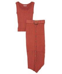 REDYAZEL/ランダムヘムタイトスカートセットアップ/503120400